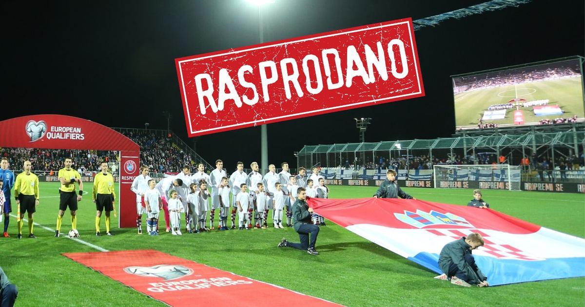 Hrvatska Slovačka Rasprodano Kvalifikacije Za Euro 2020
